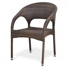 Кресло из иск. ротанга Y90CG-W1289 Pale