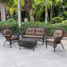 Комплект мебели из иск.ротанга LV520BB Вrown/Beige