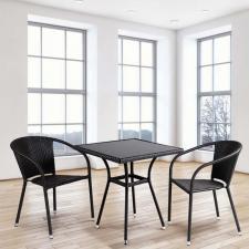 Комплект мебели из иск. ротанга T282BNS/Y137C-W53 Brown (2+1)
