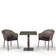 Комплект мебели из иск. ротанга T601G/Y375G-W1289 Pale (2+1)