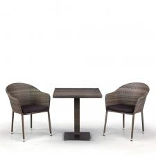 Комплект мебели из иск. ротанга T601DG/Y375G-W1289 Pale (2+1)