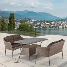 Комплект мебели из иск. ротанга T198B/S54B-W56 Light brown