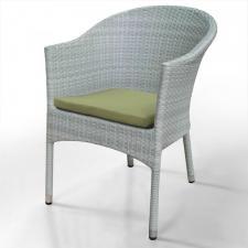 Кресло из иск. ротанга WS2907W  White