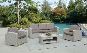 Комплект мебели с диваном AFM-3017G Light grey