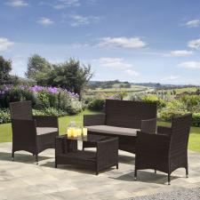 Комплект мебели из иск. ротанга AFM-2025B Brown