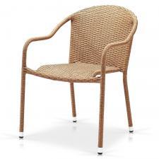 Кресло из иск. ротанга AFM-318B-Beige