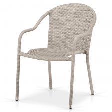 Кресло из иск. ротанга AFM-318G-Light Grey