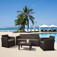 Комплект мебели с диваном AFM-5018B Brown