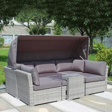 Комплект мебели из иск. ротанга AFM-320G Grey
