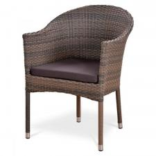 Кресло из иск. ротанга Y350G-W1289 Pale