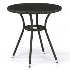 Стол из иск. ротанга T282ANS-W53-D72 Brown