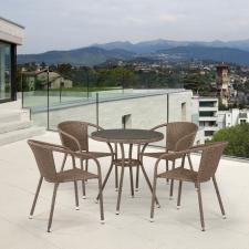 Комплект мебели T282ANT/Y137C-W56 Light Brown (4+1)