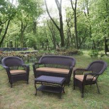 Комплект мебели из иск. ротанга LV130 Brown/Beige