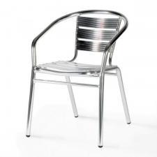 Стул алюминевый LFT-3059 Silver metallic