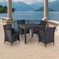 Комплект мебели из иск. ротангаT246ST/Y189D-W5 Black (4+1)