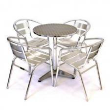 Комплект мебели LFT-3059/T3127-D60 Silver (4+1)