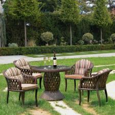 Комплект мебели из иск. ротанга RT-A92 Brown (4+1)
