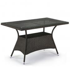 Стол из иск. ротанга T198D-W53-130x70 Brown