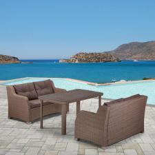 Комплект мебели из иск. ротанга T51B/S51B-W60 Light brown