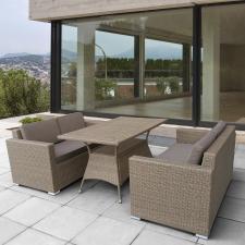 Комплект мебели из иск. ротанга T198B/S52B-W56 Light brown