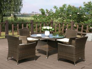 Комплект мебели из иск. ротанга AFM-410RD90 4Pcs